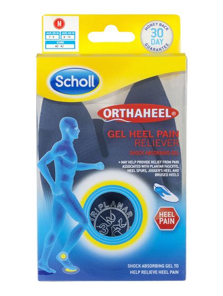 Scholl Orthaheel Gel Heel Reliever Pain Relief Medium