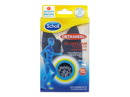 Scholl Orthaheel Gel Heel Reliever Pain Relief Small