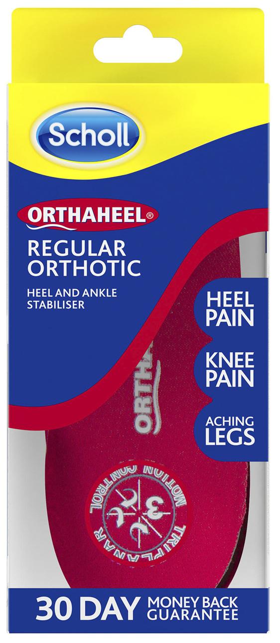 Scholl Orthaheel Regular Orthotic Large