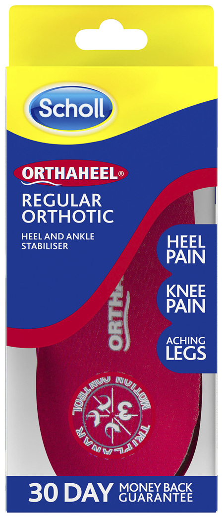 Scholl Orthaheel Regular Orthotic Small