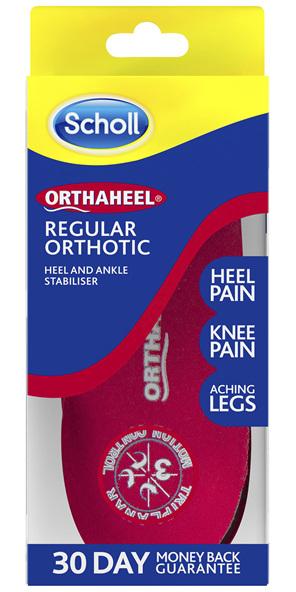 Scholl Orthaheel Regular Orthotic Small