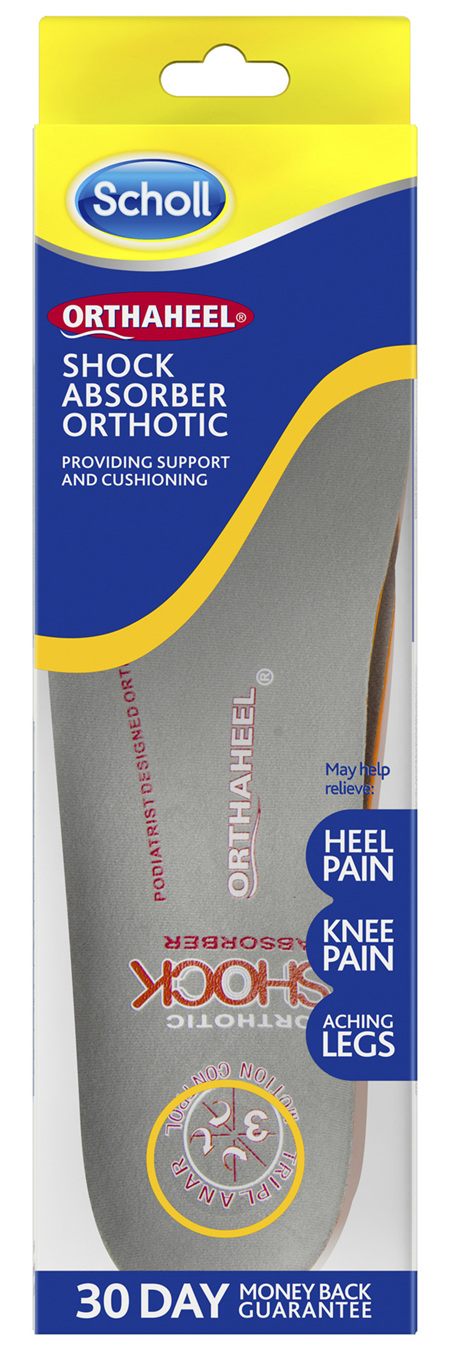 Scholl Orthaheel Shock Absorber Orthotic Large