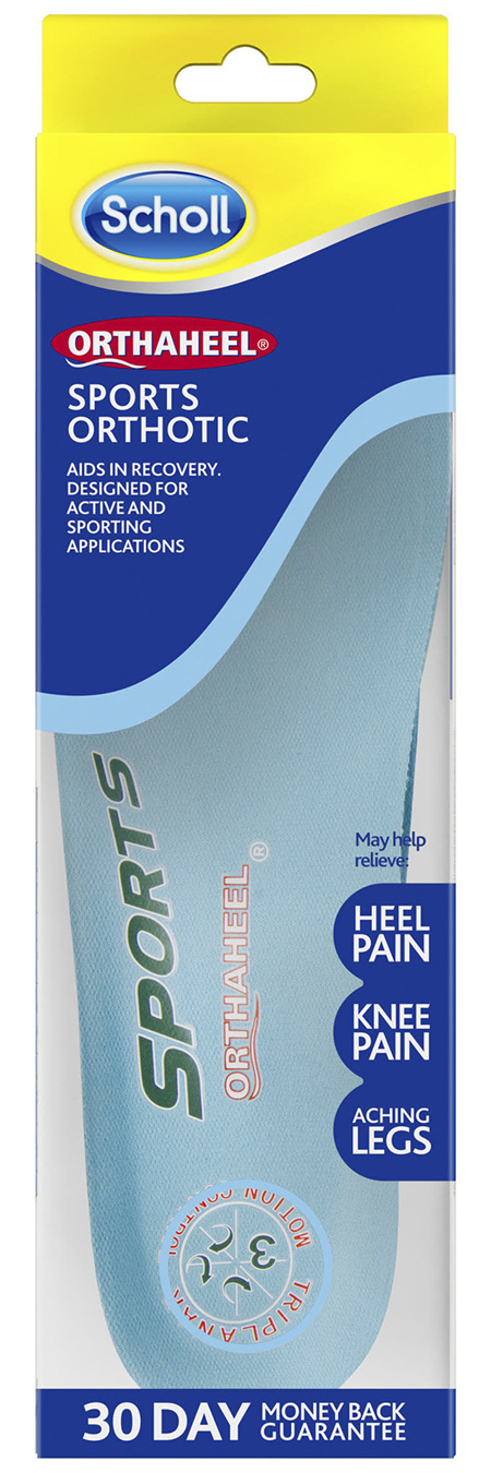 Scholl Orthaheel Sports Orthotic Large
