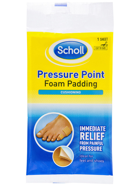 Scholl Pressure Point Foam Padding Pain Relief