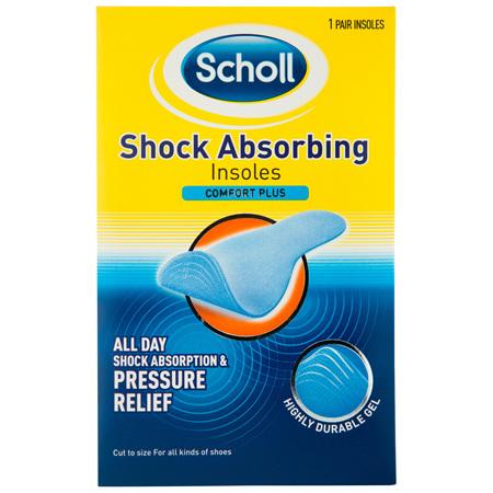 Scholl Shock Absorbing Shoe Insoles