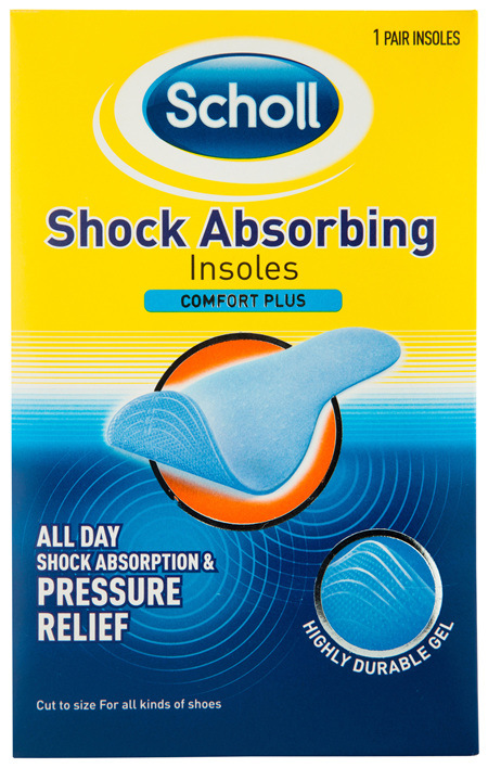 Scholl Shock Absoring Shoe Insoles