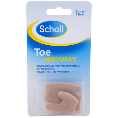 Scholl Toe Separators Pain Relief