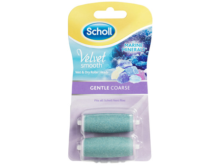 Scholl Velvet Smooth Express Pedi Foot File Gentle Coarse Refill