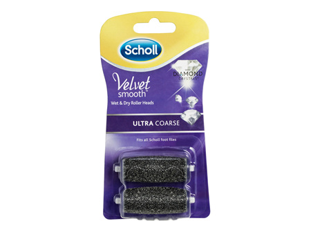 Scholl Velvet Smooth Express Pedi Foot File Ultra Coarse Refill