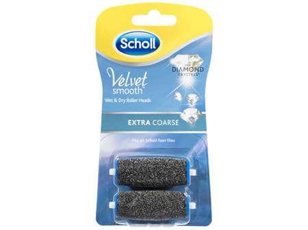 Scholl Velvet Smooth Extra Coarse 2 Pack