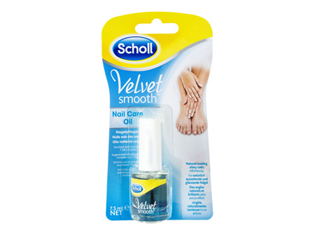 Scholl Velvet Smooth Nail Care Oil 7.5ml