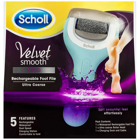 Scholl Velvet Smooth Pro Rechargeable Foot File