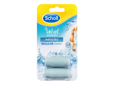 Scholl Velvet Smooth Wet & Dry Express Pedi Foot File Refill