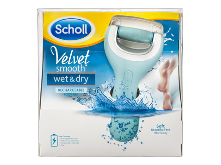 Scholl Velvet Smooth Wet & Dry Express Pedi Foot File