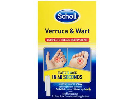 Scholl Verruca and Wart Remover Kit 53g