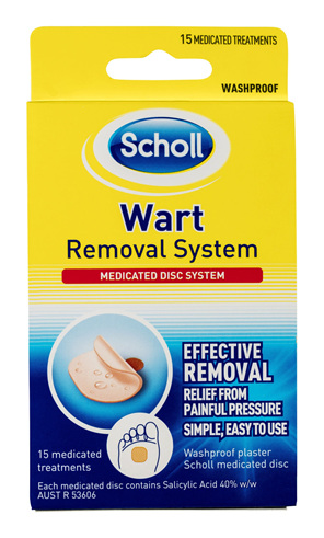Scholl Wart Removal System