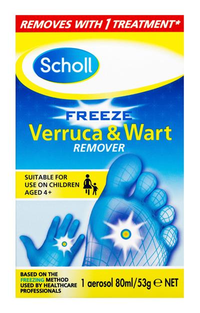 Scholl Wart & Verruca Freeze 80ml