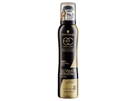 Schwarzkopf Extra Care Ultimate Keratin Mousse maximum hold 150g