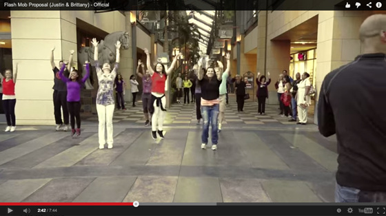 Flash Mob Marriage Proposal Wilshi The Proposal Ring