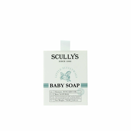 SCULLY Baby Soap Boxed 75g