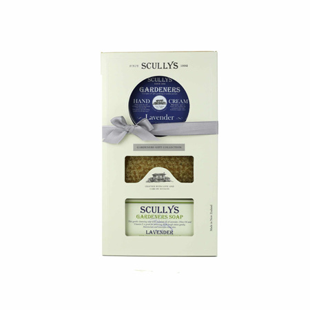 SCULLY Gardeners H/Cr & Soap G/Box