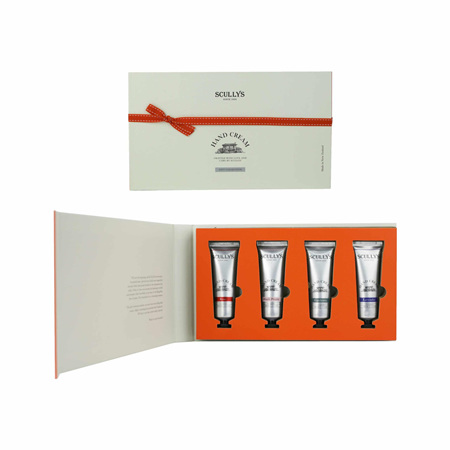 SCULLY Hand Cream Gift Box 4x30g