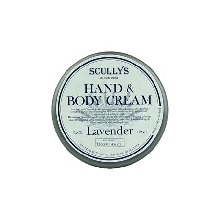 SCULLY Lavender Hand & Body Cream