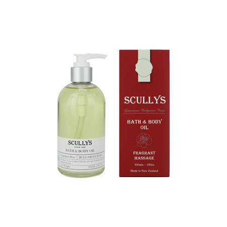 SCULLY Rose Bath & Body Oil 300ml
