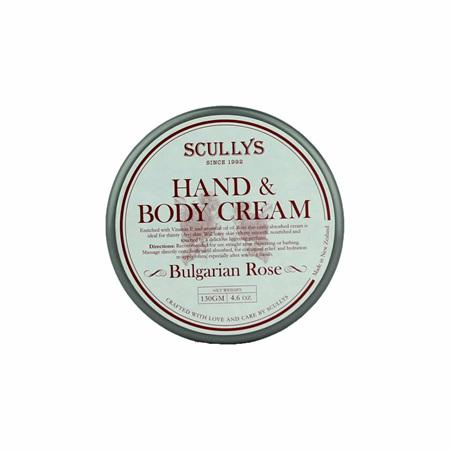 SCULLY Rose hand & body cream