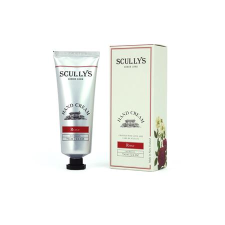 SCULLY Rose Hand Cream Tube 75g