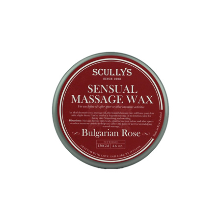 SCULLY Rose massage wax