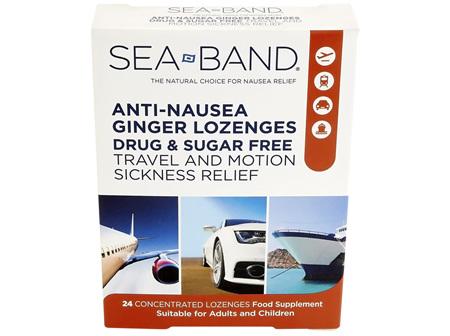 Sea-Band Anti-Nausea Lozenge 24's