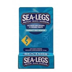 Sea Legs Travel Sickness Tablets 12 Tabs