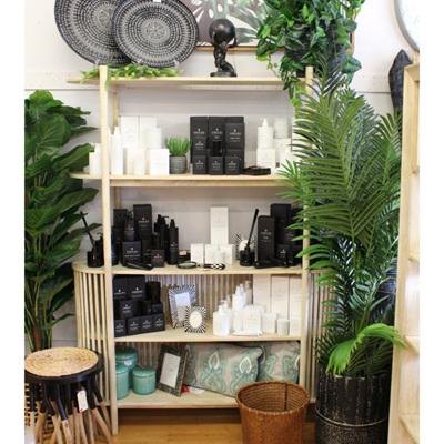Semi 5 Shelf Cabinet - Natural