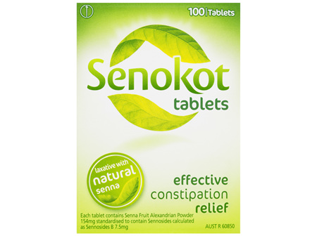 Senokot Tablets Constipation Relief 100 Pack