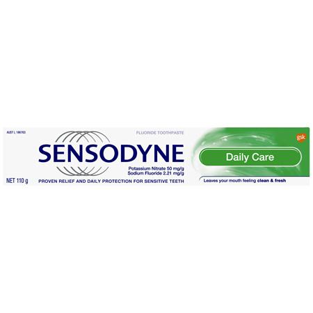 Sensodyne Daily Care, Sensitive Toothpaste, 110g