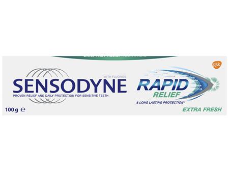 Sensodyne Rapid Relief Extra Fresh, Sensitive Toothpaste, 100g
