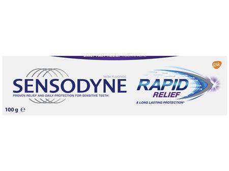 Sensodyne Rapid Relief, Sensitive Toothpaste, 100g