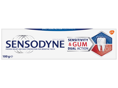 Sensodyne Sensitivity & Gum, Sensitive Toothpaste, 100g