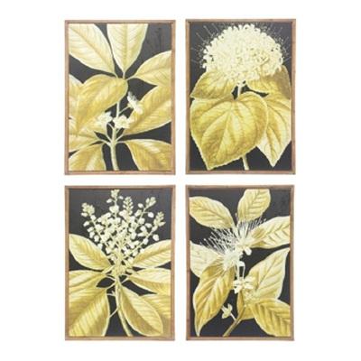 Set of 4 Flora Framed Prints