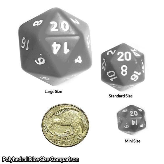 Set of 7 Pink Translucent Mini Polyhedral Dice Games and Hobbies New Zealand