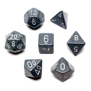 7 'Hi-Tech' Speckled Dice