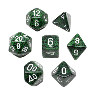 7 'Recon' Speckled Dice
