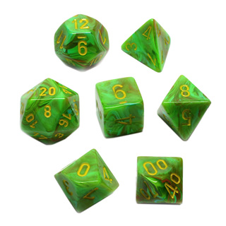 7 'Slime' with Yellow Vortex Dice