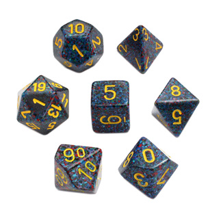 7 'Twilight' Speckled Dice