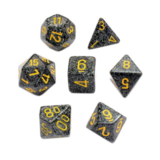 7 'Urban Camo' Speckled Dice