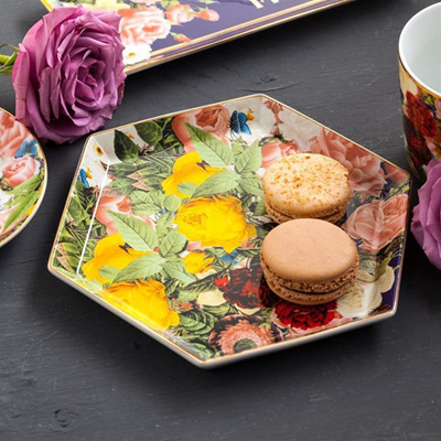 Seven Sisters Blooming Hex Tray