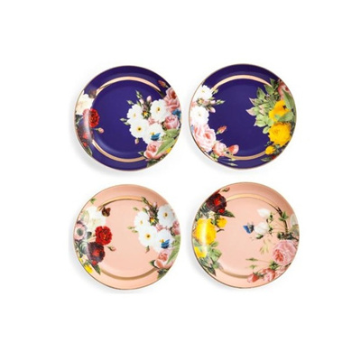 Seven Sisters Floral Appetizer Plate