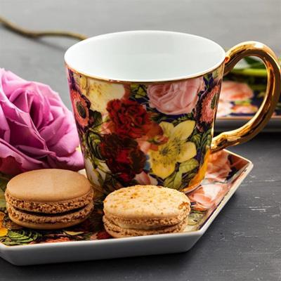 Seven Sisters Floral Teacup