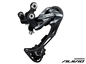 Shimano Alivio Shadow Rear Derailleur 9 Speed